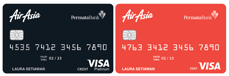 AirAsia Platinum Credit Card dan AirAsia Debit Card